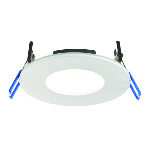 Saxby Lighting 71210 OrbitalPRO 9w IP65 LED Recessed Downlight Matt White Finish With Colour Changing Technology
