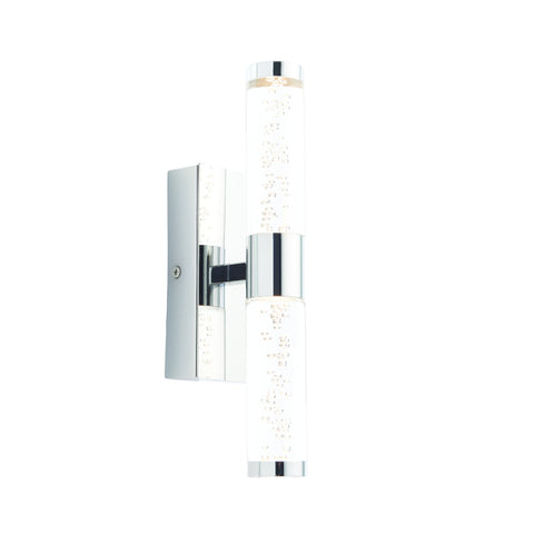Endon Lighting 72612 Essence 2 Light Polished Chrome LED Wall light