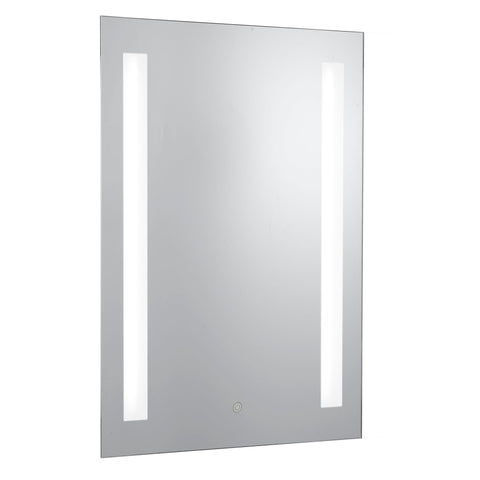 Searchlight 7450 Illuminated Touch Bathroom Mirror With Shaver Socket