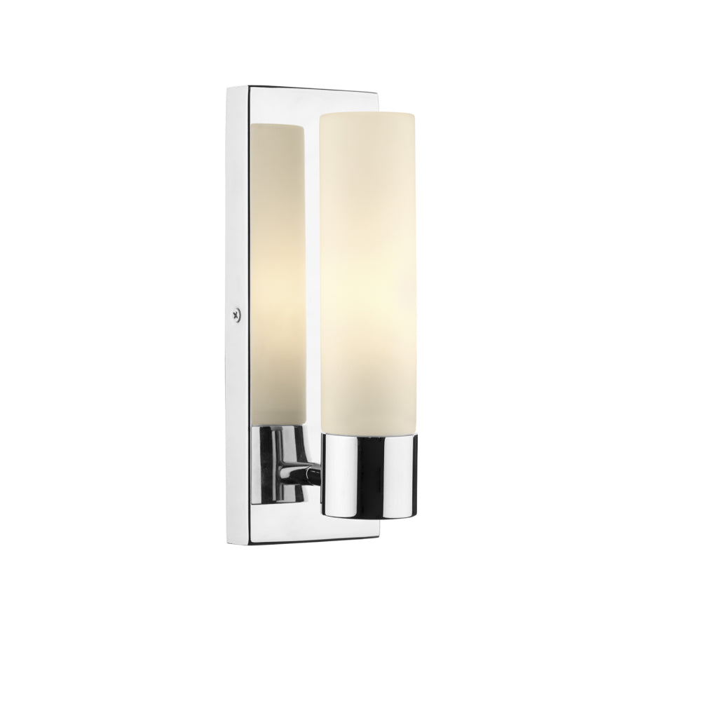 där Lighting ADA0750 Adagio Single Light Polished Chrome Wall Light