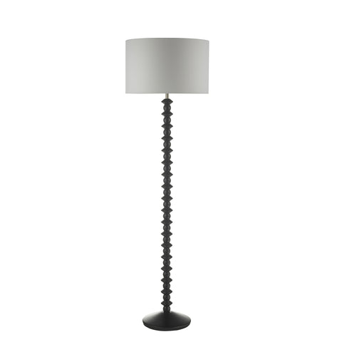 där lighting AZA4922 Azana Single Light Satin Black Floor Lamp Base Only
