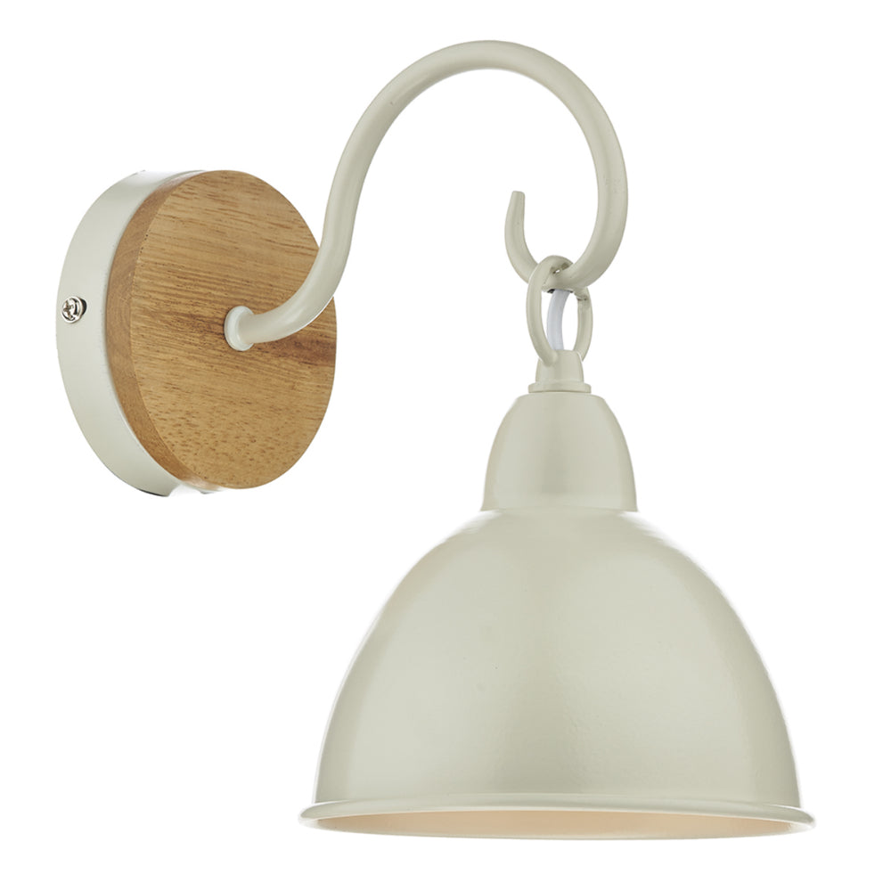 cream wall light
