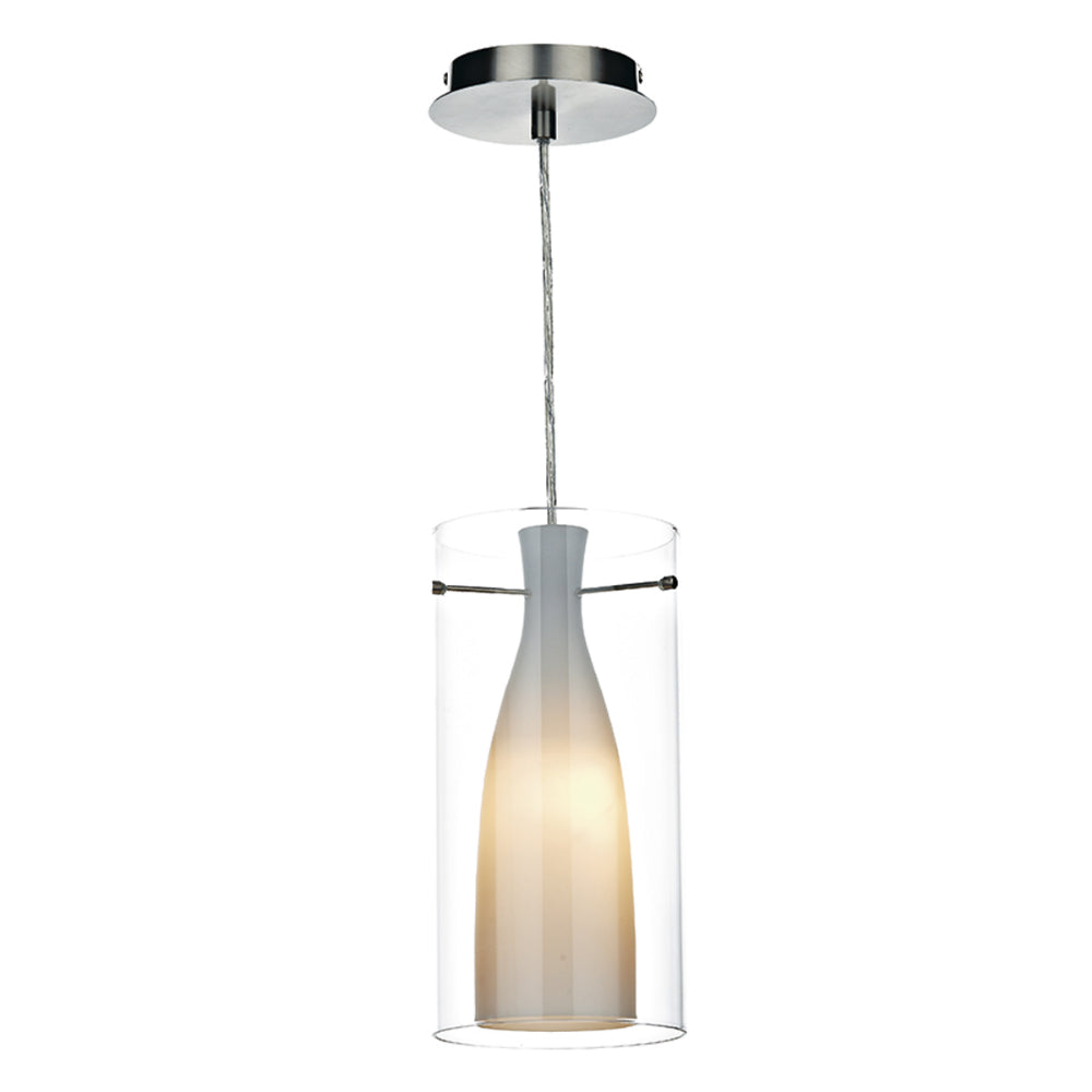 ar Lighting BOD8646 Boda Single Light Polished Chrome Pendant Ceiling Light