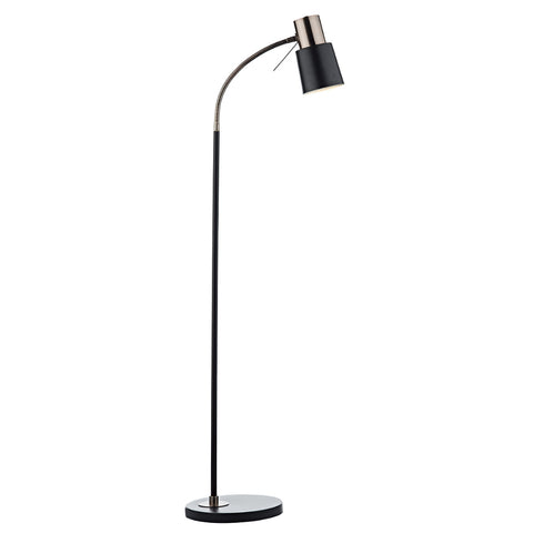 där Lighting BON4954 Bond Black & Copper Floor Lamp