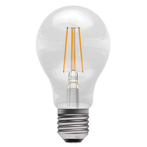 E27 8W LED Filament GLS Clear 2700k Warm White Dimmable