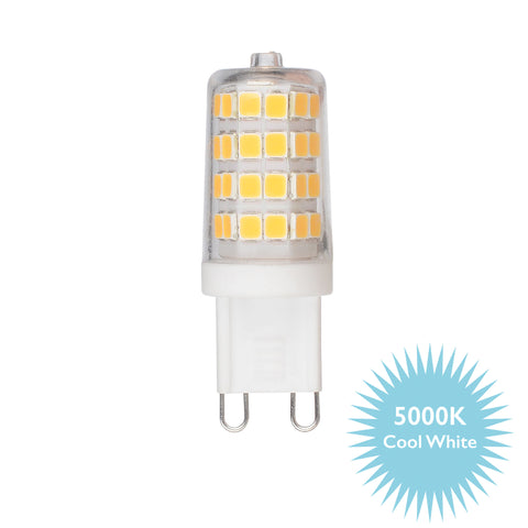där Lighting BUL-G9-LED-5 G9 LED Capsule 3.5w = 32w 350 Lumens 5000k Cool White