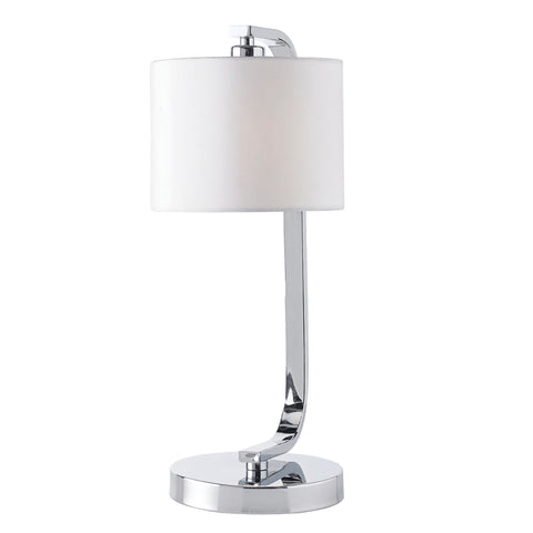 Endon Lighting CANNING-TLCH Canning Touch Table Lamp Chrome Finish