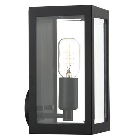 där Lighting ERA0722 Era Single Light Black Outdoor Wall Light