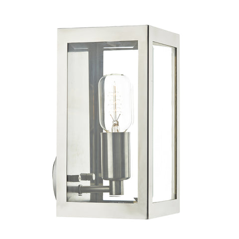 där Lighting ERA0744 Era Single Light Stainless Steel Outdoor Wall Light