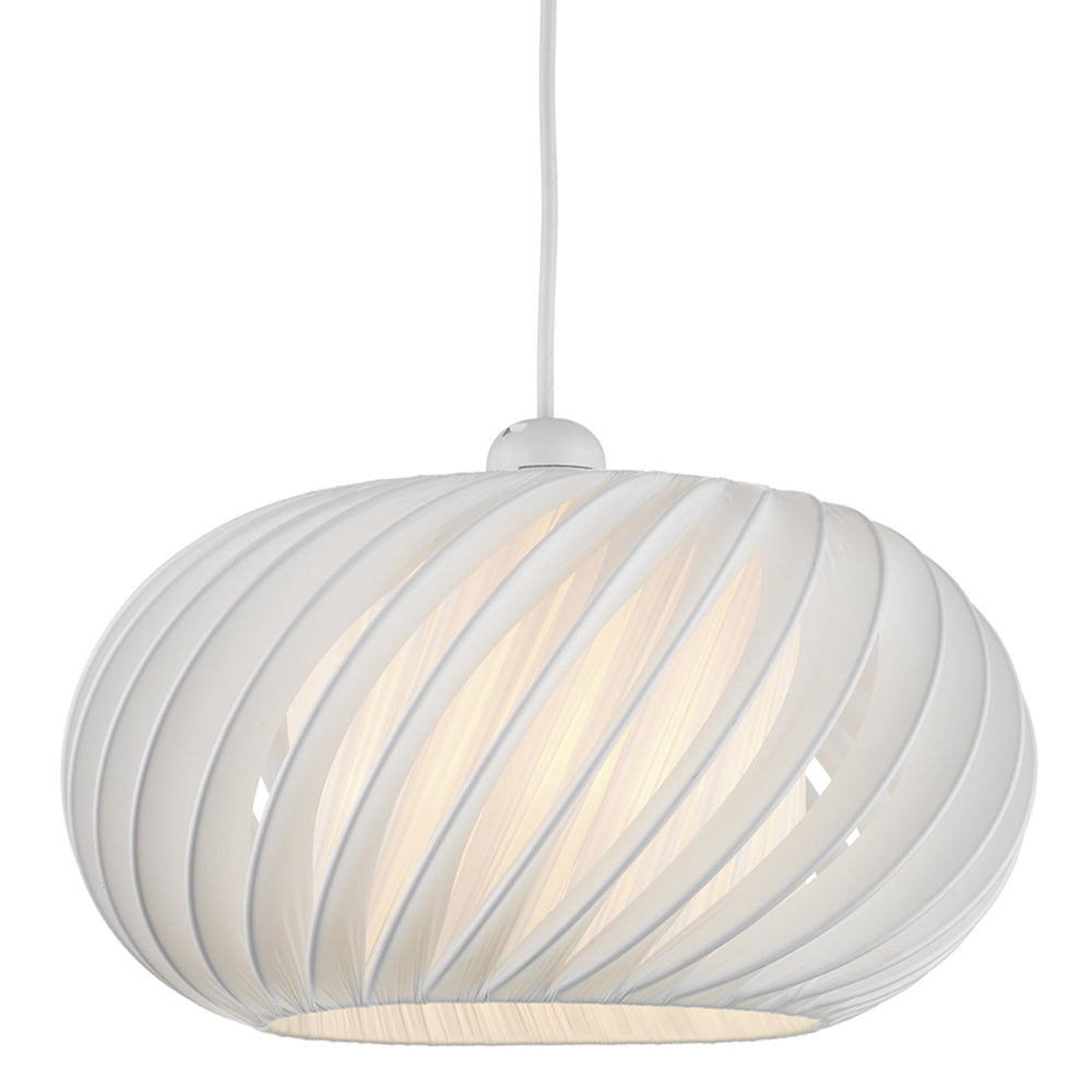 där Lighting EXP6533 Explorer White Small Easy Fit Pendant Shade