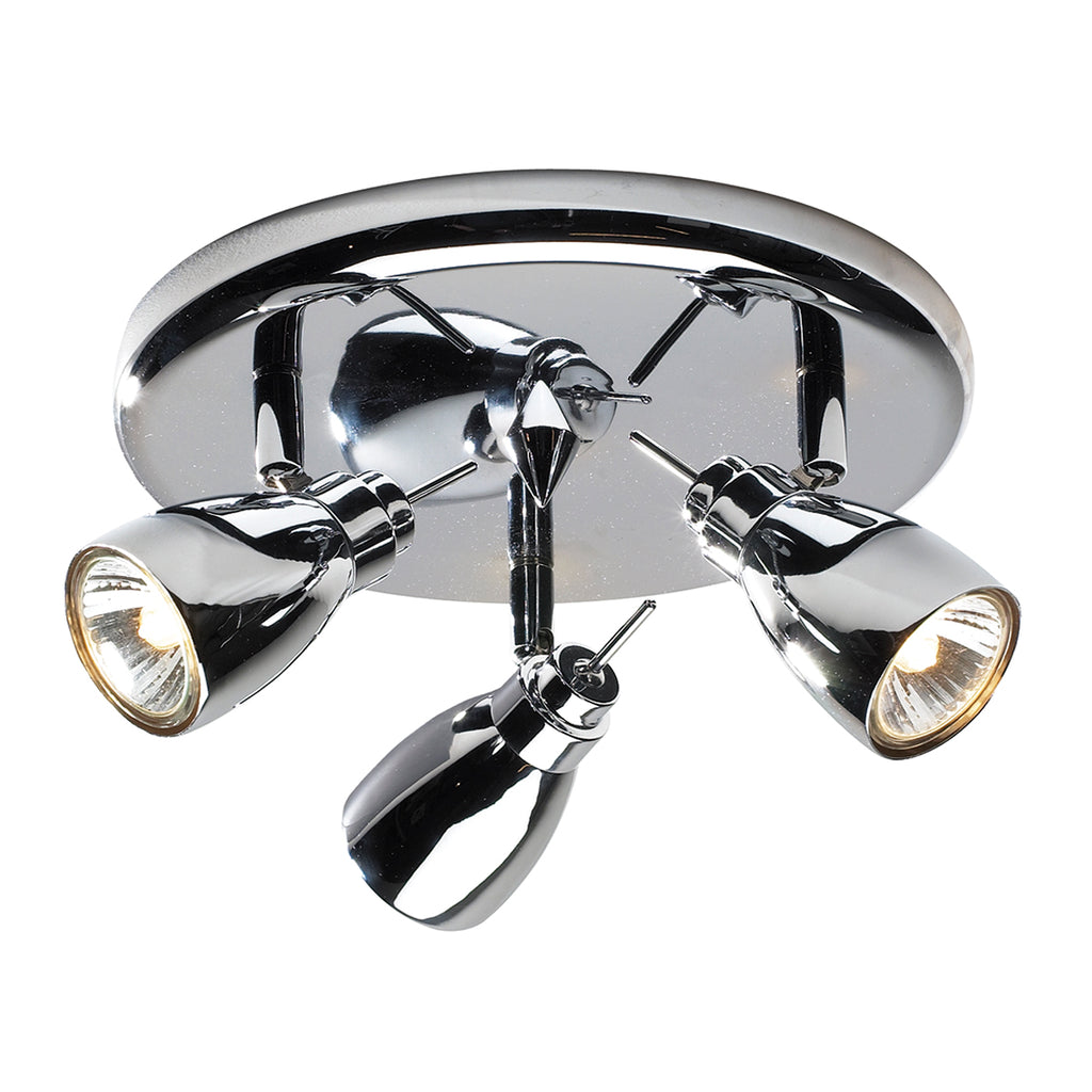 chrome ceiling spotlight