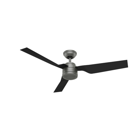 "Hunter CABO FRIO - 52"" / 132cm Ceiling Fan Matte Silver"