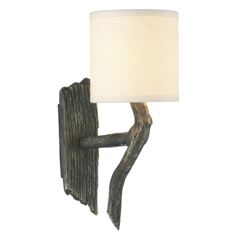 David Hunt Lighting JOS0763 Joshua Single Light Bronze Wall Light