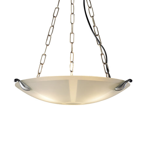 David Hunt MG37 Savoy Single Light Pewter/Acid Pendant Ceiling Light