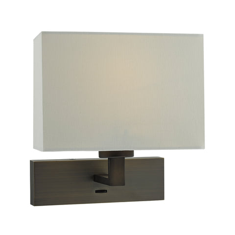 där Lighting MOD7163 Modena Single Light Bronze Wall Light (Bracket Only)