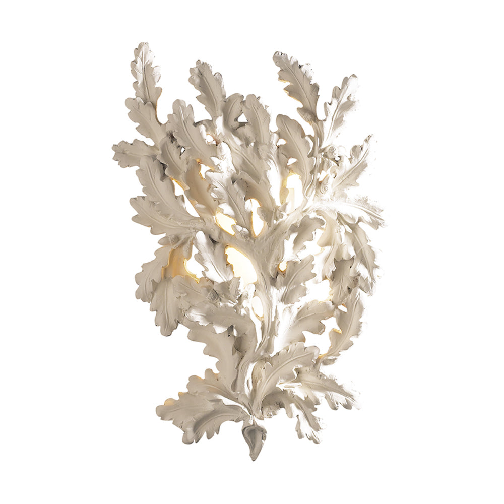 David Hunt Lighting OAK0733 Oak Single Light Cream Wall Light