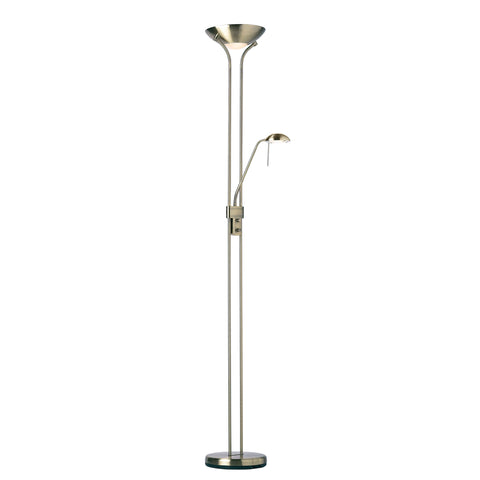 Endon Lighting ROME-AN Rome Mother & Child Antique Brass Floor Lamp