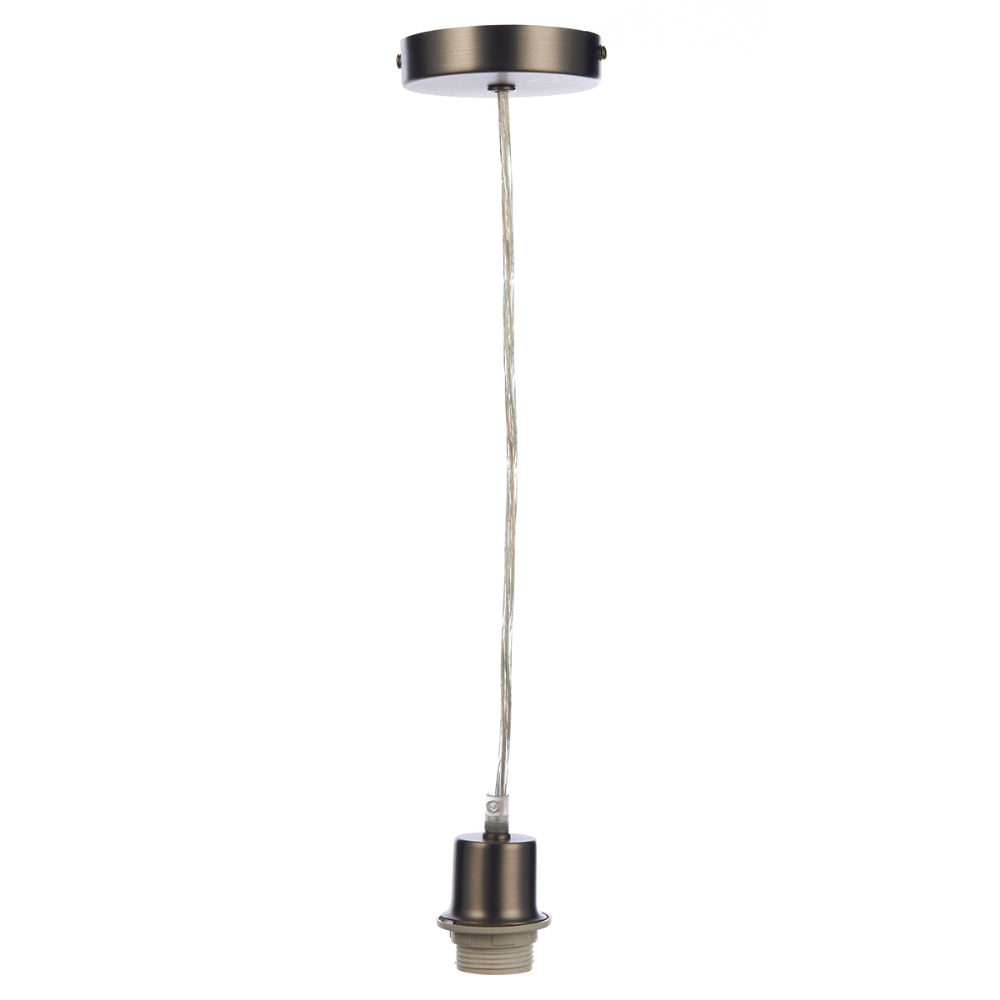där Lighting SP61 Antique Chrome Suspension With Clear Cable