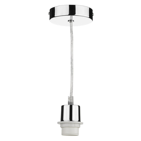 där Lighting SP65 Polished Chrome Suspension With Clear Cable