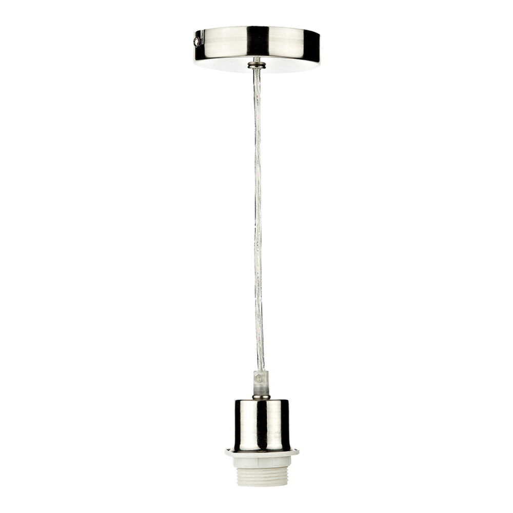 där Lighting SP68 Satin Chrome Suspension With Clear Cable