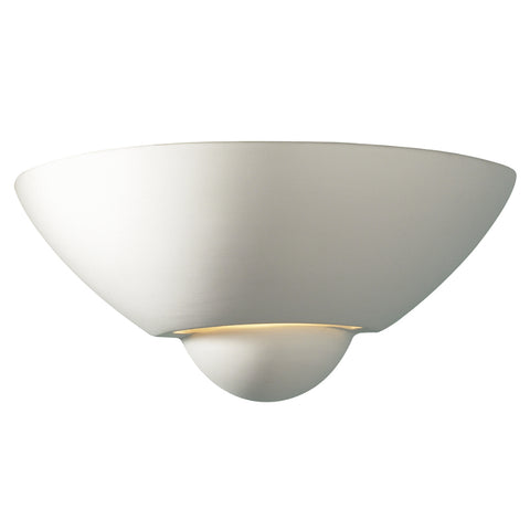 där Lighting VEC0748 Vector Single Light Ceramic Wall Light