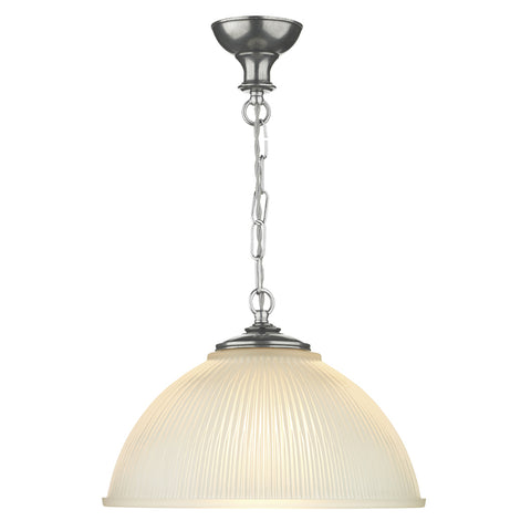 David Hunt YEA0167 Yeats Single Light Pewter Pendant Ceiling Light