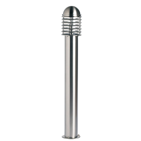 Endon Lighting YG-6003-SS Louvre Stainless Steel Bollard Light