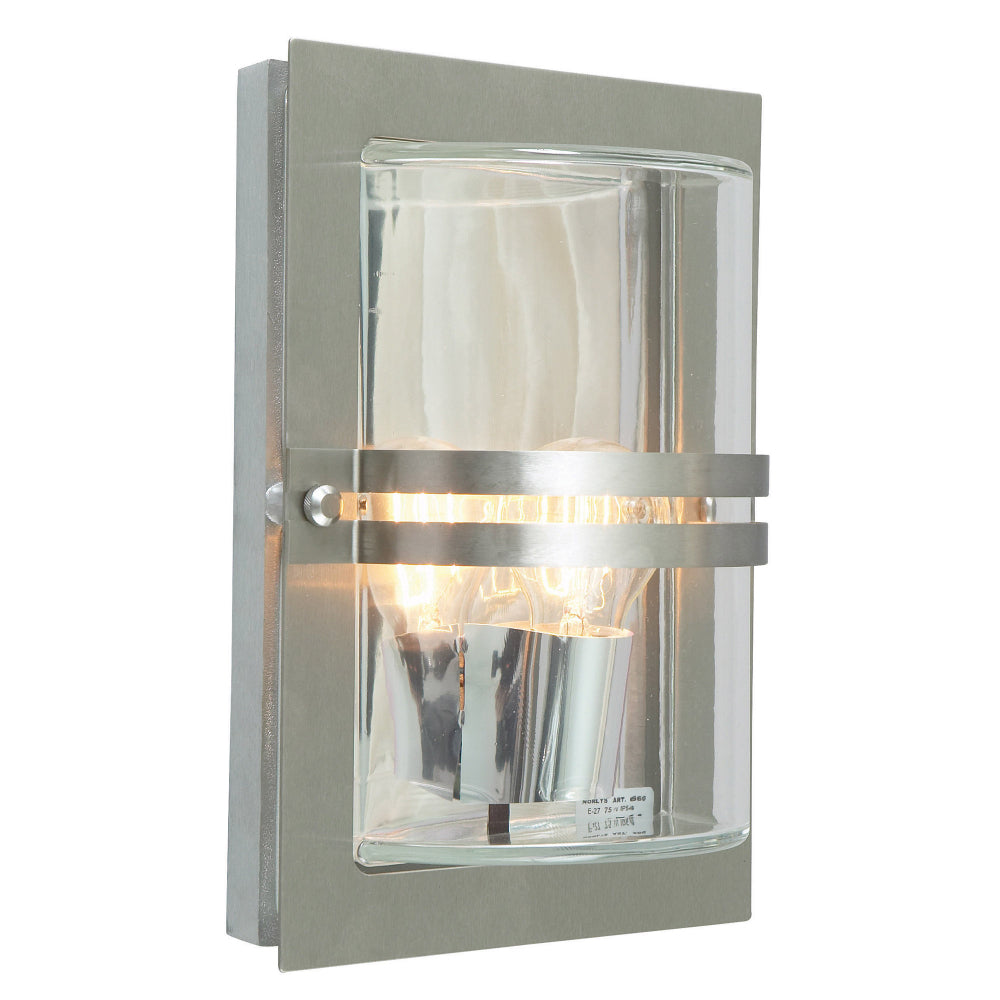 stainless steel outdoor wall light