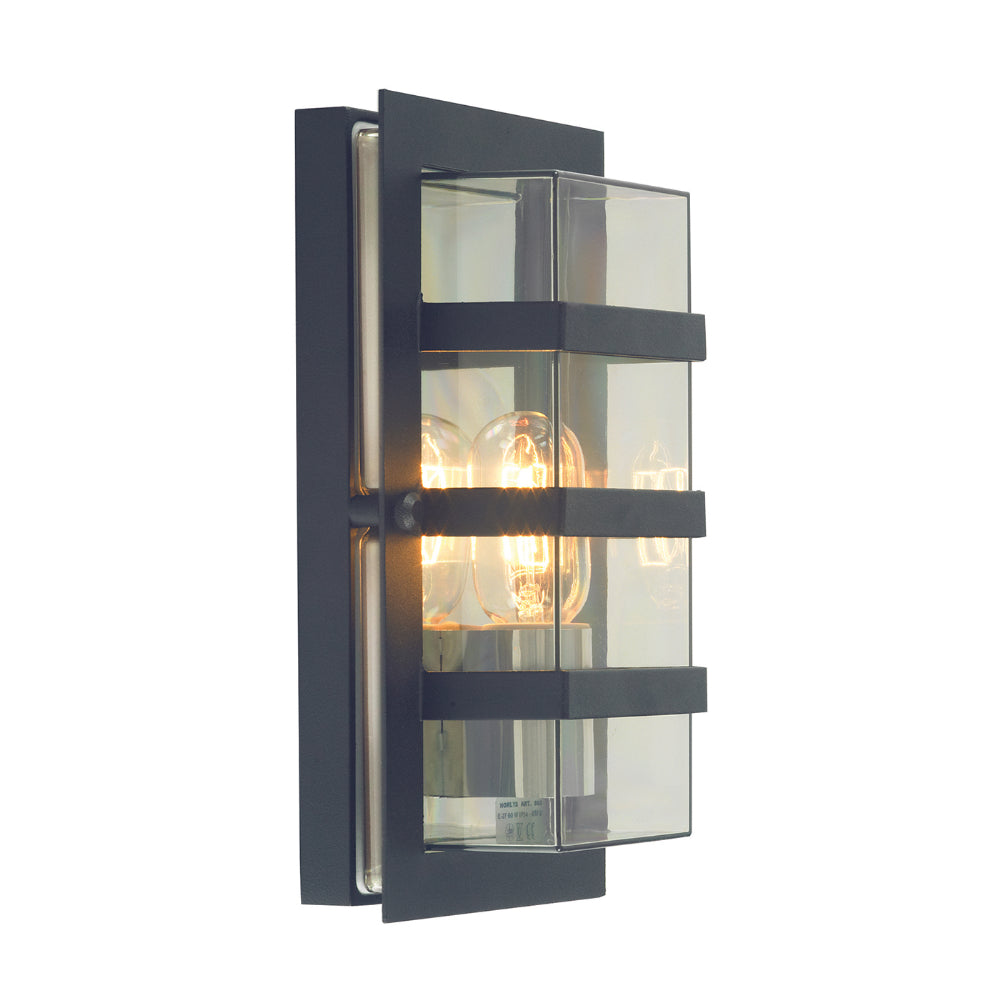 galvanised outdoor wall light