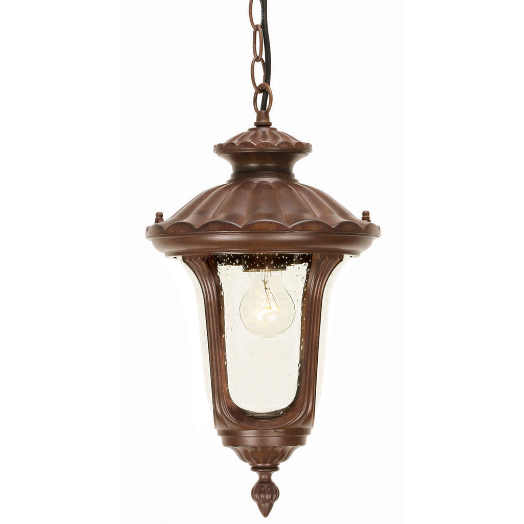 Elstead Lighting CC8/S Chicago Rusty Bronze Patina Small Outdoor Porch Light