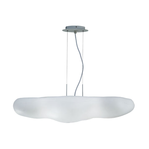 Mantra Eos 6 Light Matt White Pendant Ceiling Light
