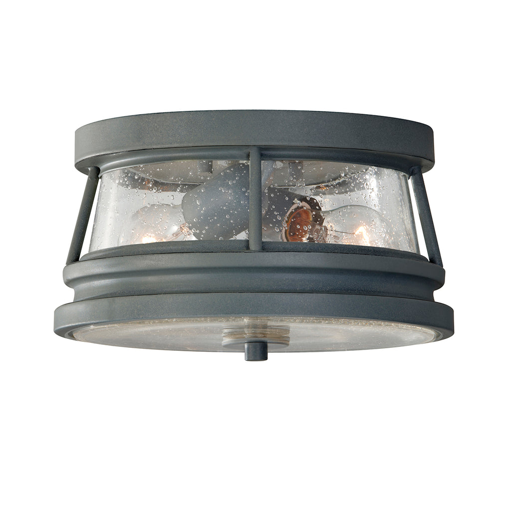 Elstead Lighting FE/CHELSEAHBR2 Chelsea Harbor Storm Cloud Grey Outdoor Wall Light