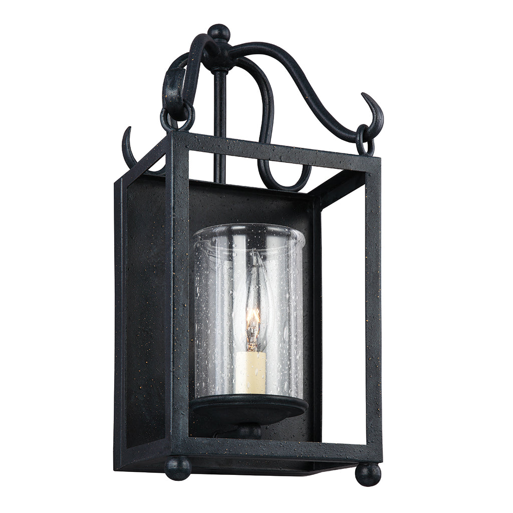 Elstead Lighting FE/DECLARATION1 Declaration Single Light Antique Forged Iron Wall Light