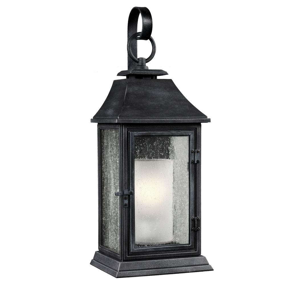 zinc outdoor wall light