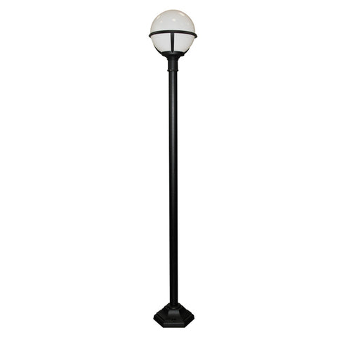 Elstead Lighting GLENBEIGH/POST Glenbeigh Black Outdoor Lamp Post