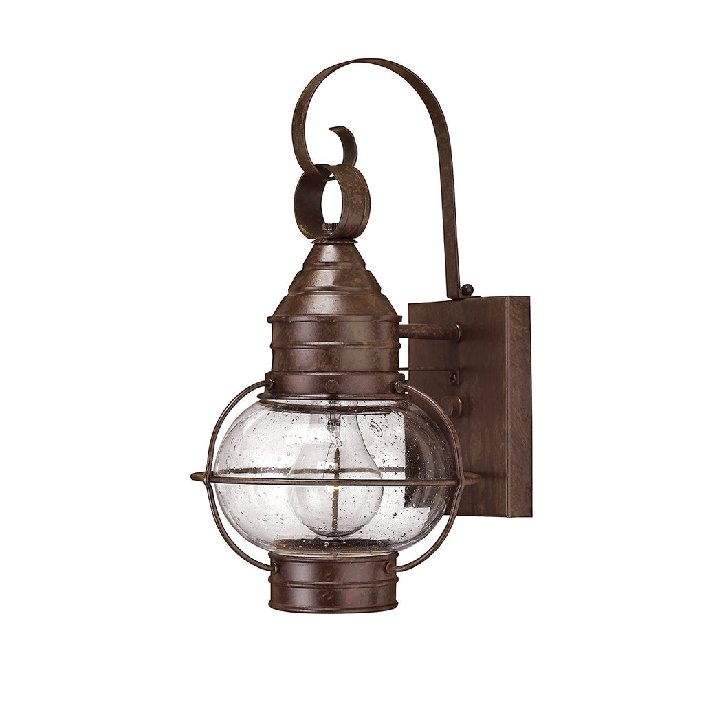 Elstead Lighting HK/CAPECOD2/M Cape Cod Sienna Bronze Medium Outdoor Wall Light