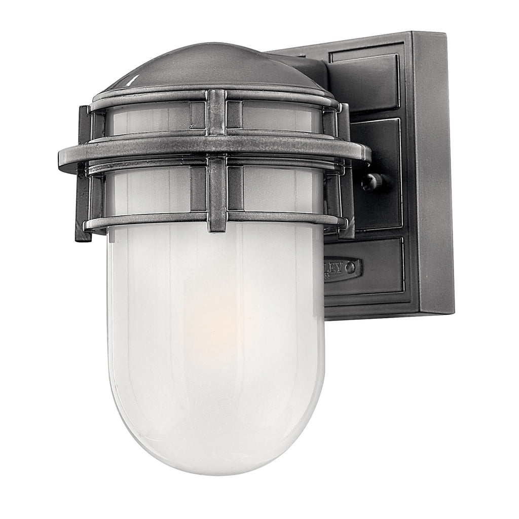 Elstead Lighting HK/REEF/MINIHE Reef Hematite Mini Outdoor Wall Light