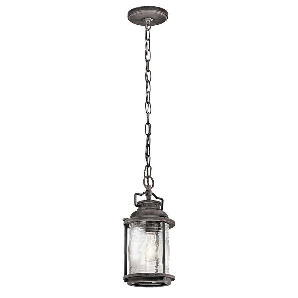 zinc outdoor hanging light