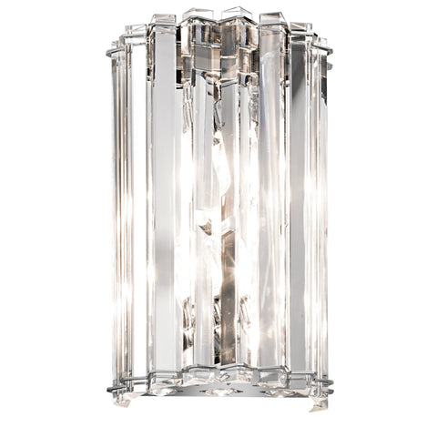 polished chrome ceiling light
