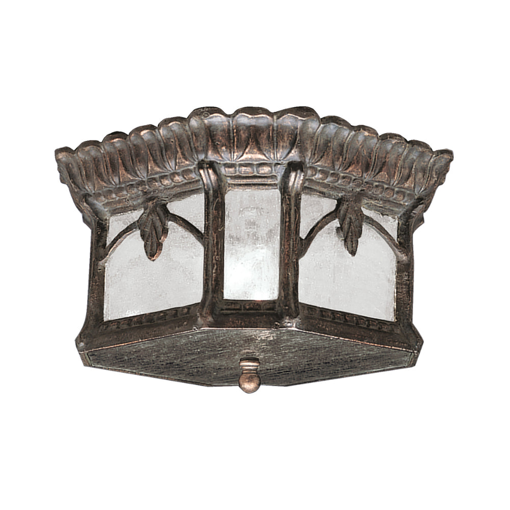 Londonderry Finish Flush Porch Light