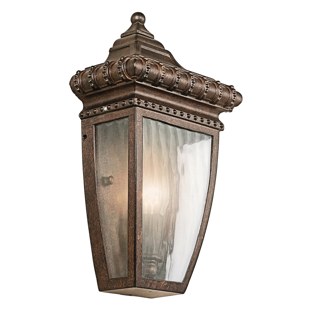 bronze outdoor wall light