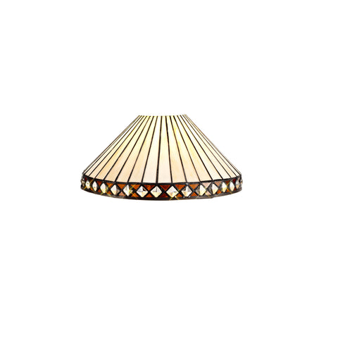 Regal Lighting SL-2038 Tiffany Easy Fit Shade For Pendant And Table Lamps 30cm
