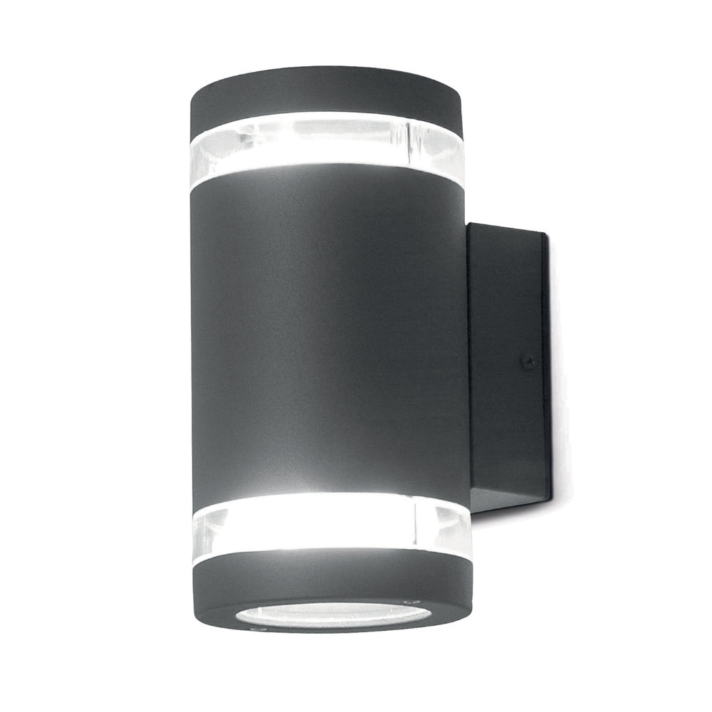 dark grey outdoor wall light