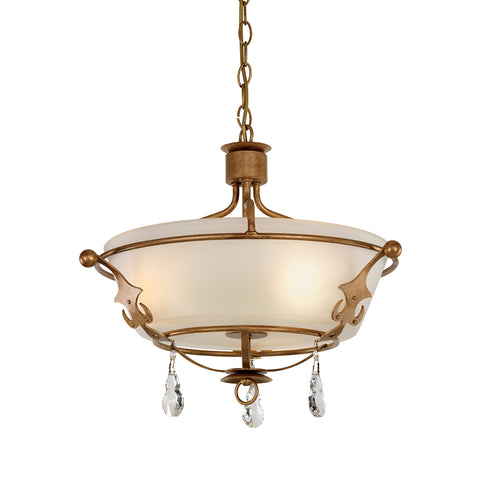 Glass Hanging Ceiling Light