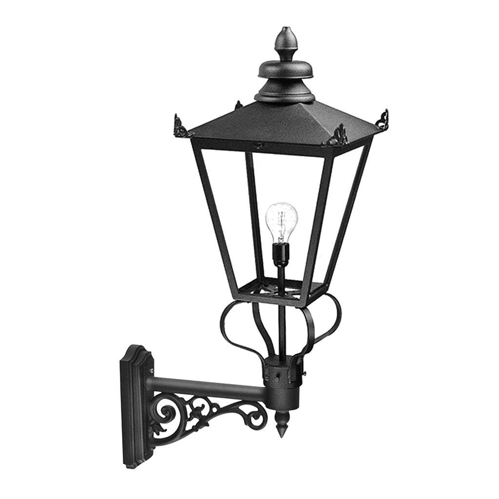Elstead Lighting WSLB1 Wilmslow Black Outdoor Wall Light