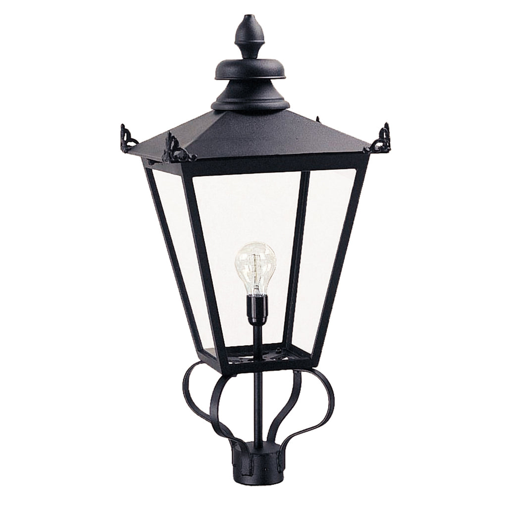 Elstead Lighting WSLL1 Wilmslow Black Head Only Lantern