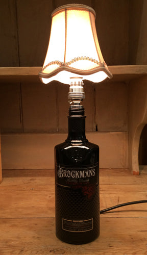 Handcrafted Brockmans Gin Table Lamp