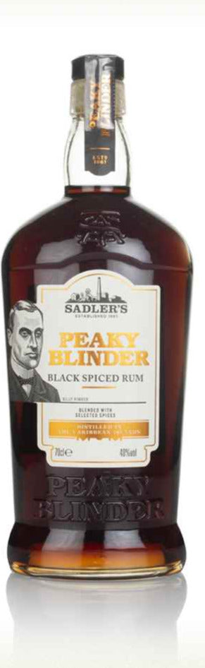 Peaky Blinder Black Spiced English Rum