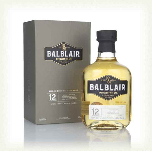 Balblair 12 Year Old Highland Single Malt