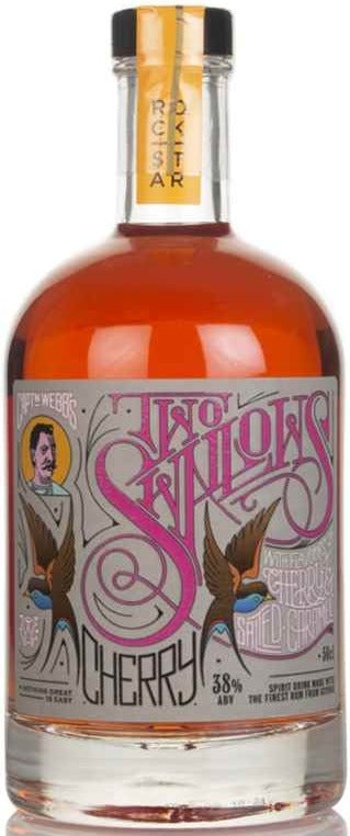 Two Swallows Cherry & Salted Caramel Rum